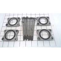 67F-14243-00-00 Yamaha 1999-2004 Intake Plates W/ Bolts 75 80 90 100 HP