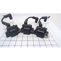 582508 Johnson Evinrude 1985-2001 Set Of Ignition Coils W/Leads 2-40 HP