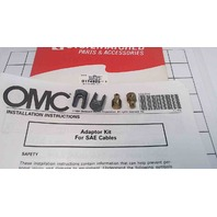 NEW! Johnson Evinrude OMC Adaptor Kit for SAE Cables 174925