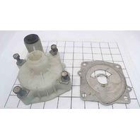 61A-44311-01-00 Yamaha Water Pump Housing W/ Cup, Plate & Bolts