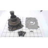 17411-87D02 Suzuki 1987-03 Water Pump Case W/Impeller, Key & Plate DT150 200 225