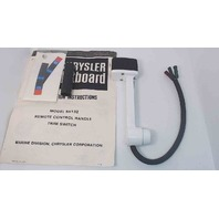 NEW! F5H132 Force Chrysler 1978-86 Control Box Handle W/Trim Switch (NO CLAMP)