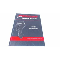 90-899987 Mercury Service Manual 15/20 HP FourStroke Serial# 0R235168 & Above