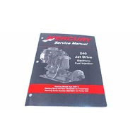 90-884822 Mercury Service Manual 240 Jet Drive Electronic Fuel Injection
