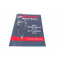 90-866917 Mercury Service Manual 50/60HP 40/50/60 Bigfoot 40JET EFI FourStroke
