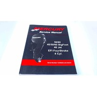 90-899975 Mercury Service Manual 50/60HP 40/50/60 BigFoot 40JET EFI FourStroke