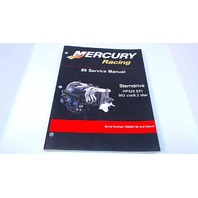 90-843189 Mercury Racing #9 Service Manual Sterndrive HP525 EFI 502 cid/ 8.2 Liter