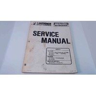 90-13645-2 Mercury Mariner Service Manual 70/75/80/90 (3 Cyl) & 100/115 (4 Cyl)