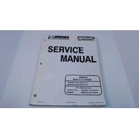 90-82614R2 Mercury Mariner Service Manual 30/40 HP (2 Cyl) Serial# 0G044027 & Up