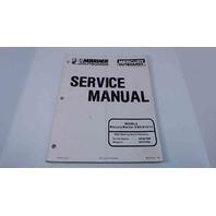 90-827242 Mercury Mariner Service Manual 6/8/9.9/10/15 HP Serial# 0D281000 & Up