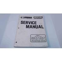 90-814098-1 Mercury Mariner Service Manual 1989-1990 135/150/175/200 HP
