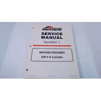90-12410 MerCruiser Service Manual #7 Marine Engines GM V-6 Cylinder