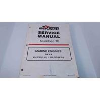 90-823224 MerCruiser Service Manual #16 Marine Engines GM V-8 454 CID/502 CID