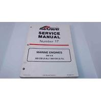 90-823225 MerCruiser Service Manual #17 Marine Engines GM V-8 305 CID/ 350 CID