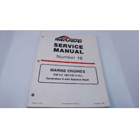 90-823226 MerCruiser Service Manual #18 Marine Engines GM V6 262 CID (4.3L)