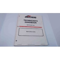 90-806534940 MerCruiser Technician's Handbook Model Year 1994 Stern Drive Units