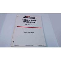 90-806534950 MerCruiser Technician's Handbook Model Year 1995 Stern Drive Units