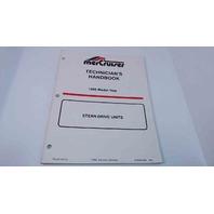 90-806534960 MerCruiser Technician's Handbook Model Year 1996 Stern Drive Units