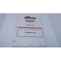 90-806534970 MerCruiser Technician's Handbook Model Year 1997 Stern Drive Units