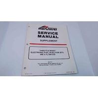 90-823225940 MerCruiser Service Manual Supplement EFI MIE 5.7L /350 CID