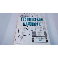 90-816981960 Mercury Mariner Technician's Handbook Model Year 1996