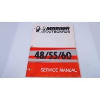 90-83079 Mariner Outboards Service Manual 48/55/60 HP