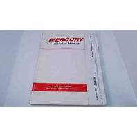 90-86134-4 Mercury Service Manual In Line 75/80/85/90/115/140/150 HP