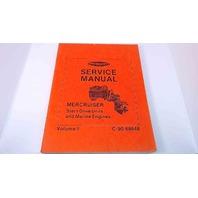 C-90-68648 Mercury Service Manual MerCruiser Stern Drive Units Vol 2