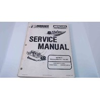 90-824052 Mercury Mariner Outboards Service Manual 135-200 HP