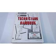 90-816981970 Mercury Mariner Technicians Handbook Model Year 1997 Vol. 2