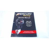 90-8M8020357 Mercury Racing Service Manual 200XS OptiMax Model Year 2006
