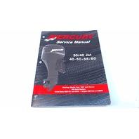 90-852572R02 Mercury Service Manual 30/40Jet 40/50/55/60 HP