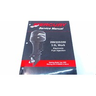 90-884294R01 Mercury Service Manual 200/225/250 HP 3.0L Work EFI