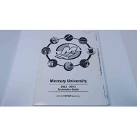 90-8M0064719 Mercury University 2012-13 Tech. Guide FourStroke Adv. Diagnostics