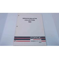 OB4684 Force Outboards Service Bulletins Collection 1990