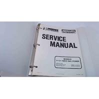 90-17308-1 Mercury Mariner Outboards Service Manual 4/5 HP 102CC SailPower
