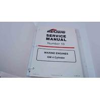 90-14693 MerCruiser Service Manual #10 Marine Engines GM 4 Cylinder