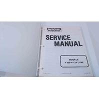 90-43508 Mercury Outboards Service Manual Models V300/V3.4 Litre