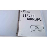 90-42794-1 Mercury Outboards Service Manual Models 35/40 HP
