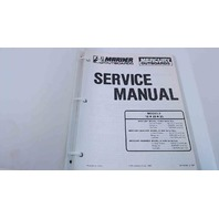 90-43509-3 Mercury Mariner Outboards Service Manual Models 18/20/25 HP