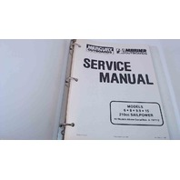 90-13449-1 Mercury Mariner Outboards Service Manual Models 6/8/9.9/15 Hp
