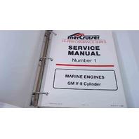 90-817110 MerCruiser Service Manual #1 Marine Engines GM V8 Cylinder