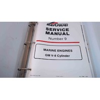 90-14499-1 MerCruiser Service Manual #9 Marine Engines GM V8 Cylinder