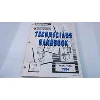 90-816981940 Mercury Mariner Outboards Technicians Handbook Model Year 1994