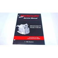 90-896580500Mercury Service Manual Mid-Section 200/225/250/275 HP Verado