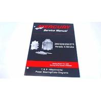 90-896580700 Mercury Service Manual Attachments&Power Steering 200-275 HP Verado