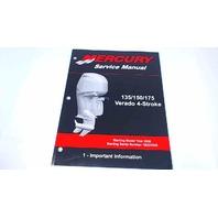 90-897928100 Mercury Service Manual Important Information 135/150/175 HP Verado