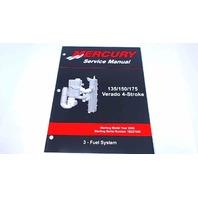 90-897928300 Mercury Service Manual Fuel System 135/150/175 HP Verado 4 Stroke