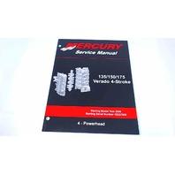 90-897928400 Mercury Service Manual Powerhead 135/150/175 HP Verado 4 Stroke