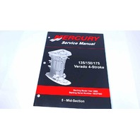90-897928500 Mercury Service Manual Mid-Section 135/150/175 HP Verado 4 Stroke